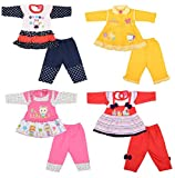 New born Baby Infant Girl Cotton Clothes...