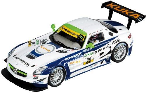 Carrera - 20027382 - Voiture Miniature - Mercedes-Benz SLS AMG GT3 - Heico Motorsport - Adac GT Masters 2011 - Echelle 1/32