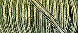 2 m Posamentenborte grün mit goldenem Lurexfaden 10 mm