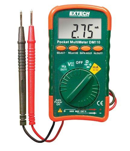 Preisvergleich Produktbild Extech Instruments DM110Mini Pocket Multimeter