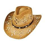 sur la tête Bast-Cowboyhut Annie Oakley - One Size