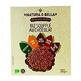 Natura & Bella - Riz soufflé au chocolat sans gluten 300G Bio - Prix Unitaire - Livraison Gratuit En France métropolitaine sous 3 Jours Ouverts