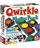 Schmidt Spiele 49309 - Legespiel, Qwirkle Mega Pack, bunt