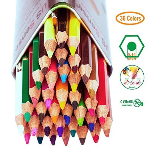Farbstifte, Buntstifte Farbstifte Set of 36, Buntstifte Erwachsenen Künstler und Sketch Makers - Perfekt zum Zeichnen und Malen