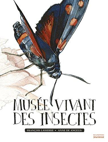 Muse vivant des insectes