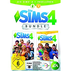 Die Sims 4 – Base Game + Inselleben Expansion, Deluxe Upgrade | PC Download – Origin Code