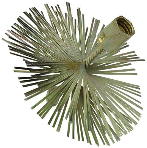 Silverline 366706 - Cepillo de alambre en forma de espiral (150 mm)