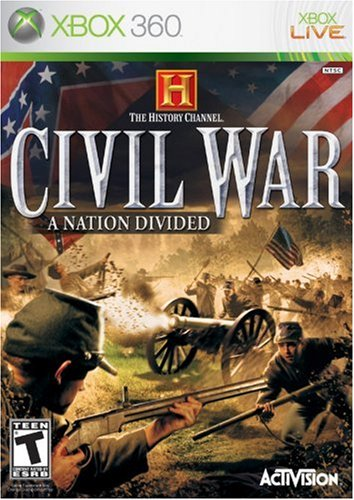 ACTIVISION History Channel Civil War: A Nation Divided - Xbox 360