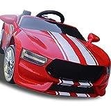 Kinder Elektroauto Elektro-Kinderwagen + Doppelantrieb Dual Power + Bluetooth Fernbedienung + Musik Früherziehung + Rocking Cradles