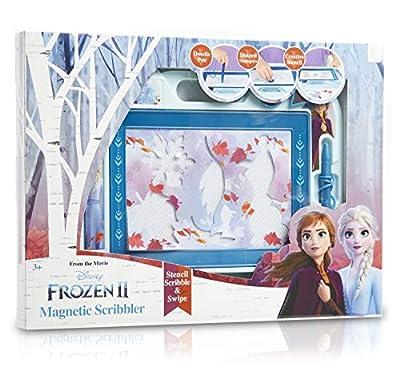 Disney Frozen 2 Pizarra Mágica Infantil para Dibujar, Juguetes Educativos para Niños 3+, Pizarras Magnéticas Infantiles Almohadilla Borrable Escritura y Dibujo Elsa y Anna, Regalos Originales de Sambro