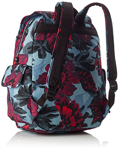 Kipling - CITY PACK L - Grand sac à dos - Dazz Tobacco C - (Marron) Multicolore - Rose Bloom Blue