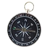 Best Hiking Compass - Phenovo Portable Iron Small Professional Compass Keychain Navigation Review