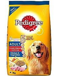 Pedigree Adult Dog Food Chicken and Vegetable, 3 kg