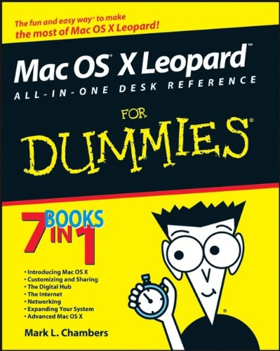 Mac-serie (Mac OS X Leopard All-in-One Desk Reference For Dummies (For Dummies Series))