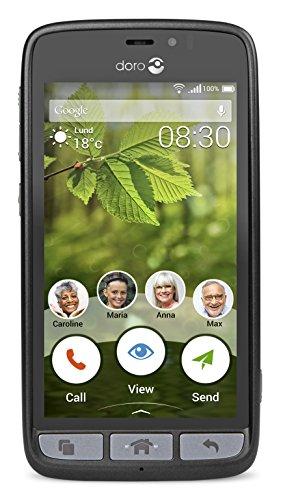 DORO 8030 BLACK 4.5IN 4G 8GB
