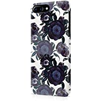 Flower Night Blue Rose Blossom Pattern Durable Hard Plastic Snap-On Plastic Phone Case Cover For iPhone 7 PLUS