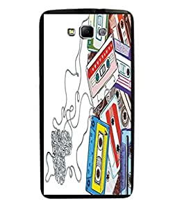 Techno Gadgets Back Cover for Samsung Galaxy On5