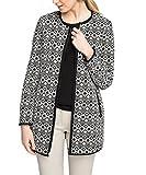 ESPRIT Collection Damen Mantel Regular Fit, Gr. 40, Schwarz (Black 001)