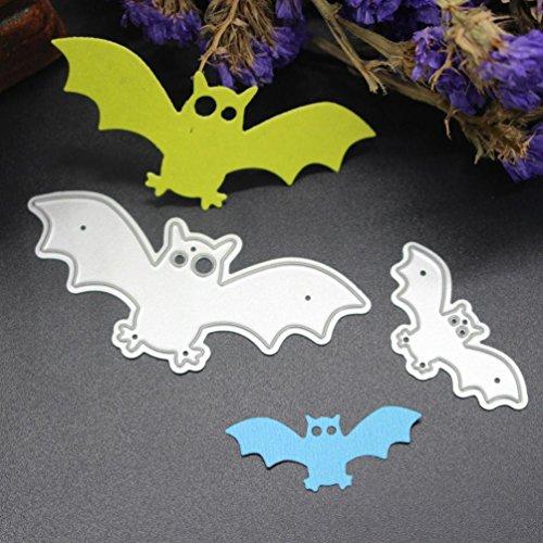 Formen Halloween die cut Prägung siconght Schablone für DIY Album Scrapbooking Papier Art Decor Karte machen Craft Werkzeug bat