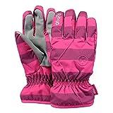 Barts Kinder Handschuhe Basic Skigloves Fuchsia Stripe (pink gestreift), Größe:4