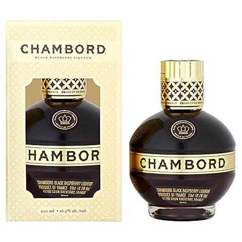 Chambord Black Raspberry Liqueur 20cl - (Pack of 2)