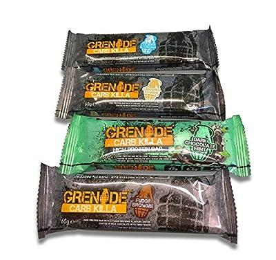 Grenade Carb Killa High Protein Bar–Mixed Box 12x 60g Bar by Grenade