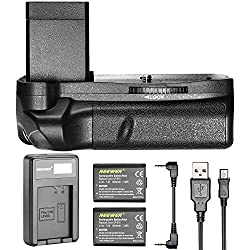Neewer Vertical Battery Grip For Canon 1100d1200d1300d & 2 Pieces 1020mah Replacement Rechargeable Li-ion Battery For Lp-e10 With Usb Battery Charger