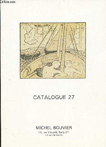 CATALOGUE 27 / Livres anciens en divers genres - Litterature - Surréalisme - Livres illustrés - Beaux Arts - Histoire - economie poitique - REgionalisme, dont Paris - Voyages - amrine - Gastronomie - Jardins etc...