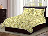 Bombay Dyeing Axia Beautiful Designer Bedsheet 104 TC 100 % Cotton Double bedsheet With Two Pillow Cover