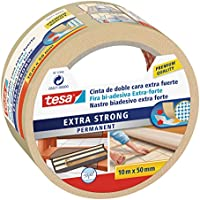 Tesa 05671-00000-00 - Cinta de doble cara extra fuerte, 10 m x 50 mm