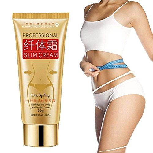 Slimming Cream Abnehmenstraffung Creme Slim Massage Creme Fett Burner Schlankheitscreme Massage Hot Anti-Cellulite K?rperpackung Gel mit...