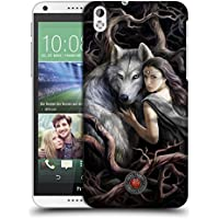Official Anne Stokes Soul Bond Wolves 2 Hard Back Case for HTC Desire 816