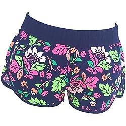 Inception Pro Infinite DP004 - Taglia XL - Pantaloncini da Bagno Corti Shorts - Adatto a Adulti Donna & Ragazza - Fantasia a Fiori - Sexy - Moda Mare Spiaggia Piscina Sport - Primavera - Estate