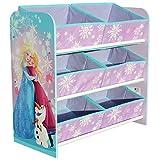 Unbekannt Disney Frozen Toy Organizador Kids Storage Frozen Niños Estantería Cajas 6Cajas
