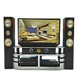 Naisicatar 1 PC Mini Hallo-Fi-TV Heimkino-Kabinett Set Combo...