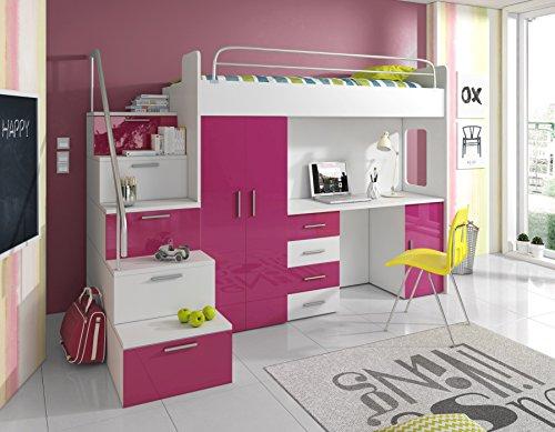 Etagenbett Für Jungs : ᑕ❶ᑐ hochbett ▻ gute hochbetten für kleine räume ✓das