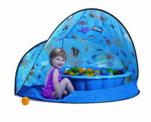 Preisvergleich Produktbild Paradiso Toys Sun&Fun Box 3teiliges Spieleset mit Zelt, Bällen und Schale