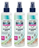 Impresan Hygiene-Spray - Desinfektionsspray - Desinfektionsmittel - Desinfektions-Pumpspray - 3 x 250ml