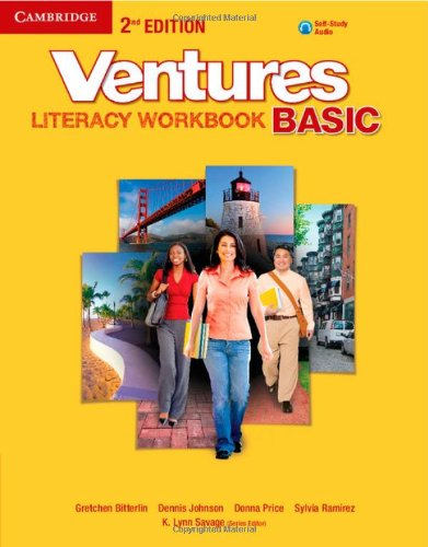 Ventures Basic Literacy Workbook with Audio CD Second edition