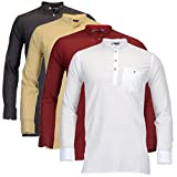 #9: Feed Up Men's Kurtas Pack of 4