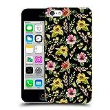 Head Case Designs Offizielle Julia Badeeva Gelb Blumig Gemischte Muster 4 Ruckseite Hülle für iPhone 5c
