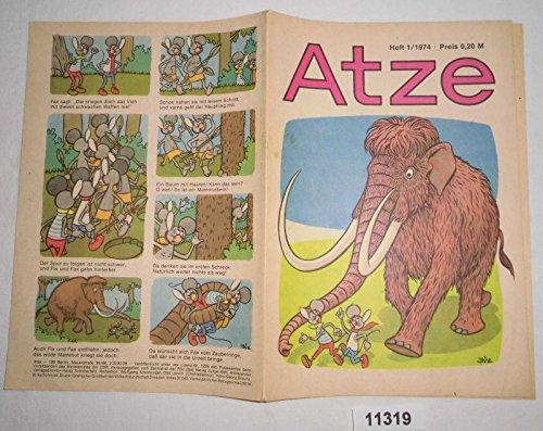 Bestell.Nr. 911319 Atze Heft 1 von 1974