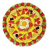 Fruchtgummi Pizza Spiegelei im kreativem Pizzakarton 600g