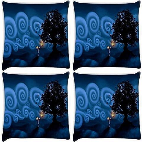 Snoogg s Star-Confezione di 4 cuscini in