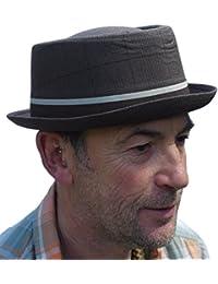 Rude Boy / Ska Pork pie Hat - Dark brun taille 57cm