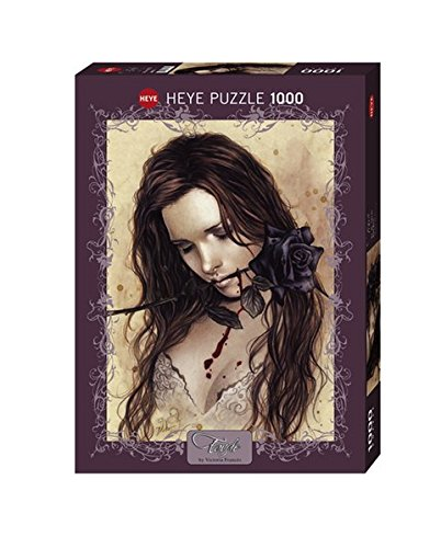 Heye 29430 - Dark Rose, Victoria Francés Puzzle 1000 pezzi