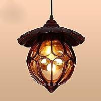 QHMC-Lampadario di stile americano, ha portato illuminazione il soggiorno sala da pranzo lampadario, Lampadario Lampada da comodino continentale camera da letto, corridoio luci le luci di ingresso balcone, decorazione nella luce Foyer