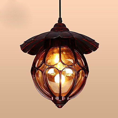 BBSLT Lampadario di stile americano, ha portato illuminazione il soggiorno sala da pranzo lampadario, Lampadario Lampada da comodino continentale camera da letto, corridoio luci le luci di ingresso balcone, decorazione nella luce Foyer