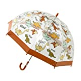 Questi ombrelli per bambini brillante, nuovo e divertente a forma di cupola sono un immediato successo. I disegni e vivace metterà un sorriso sul facce anyones in pioggia. Sono dotate di un sicuro meccanismo di apertura a scorrimento per ferm...