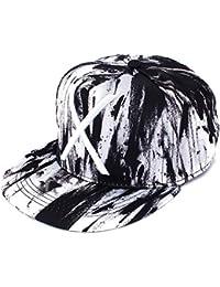 NOUVEAU mode unisexe hommes femmes snapback réglable casquette chapeau de Hip Hop noir